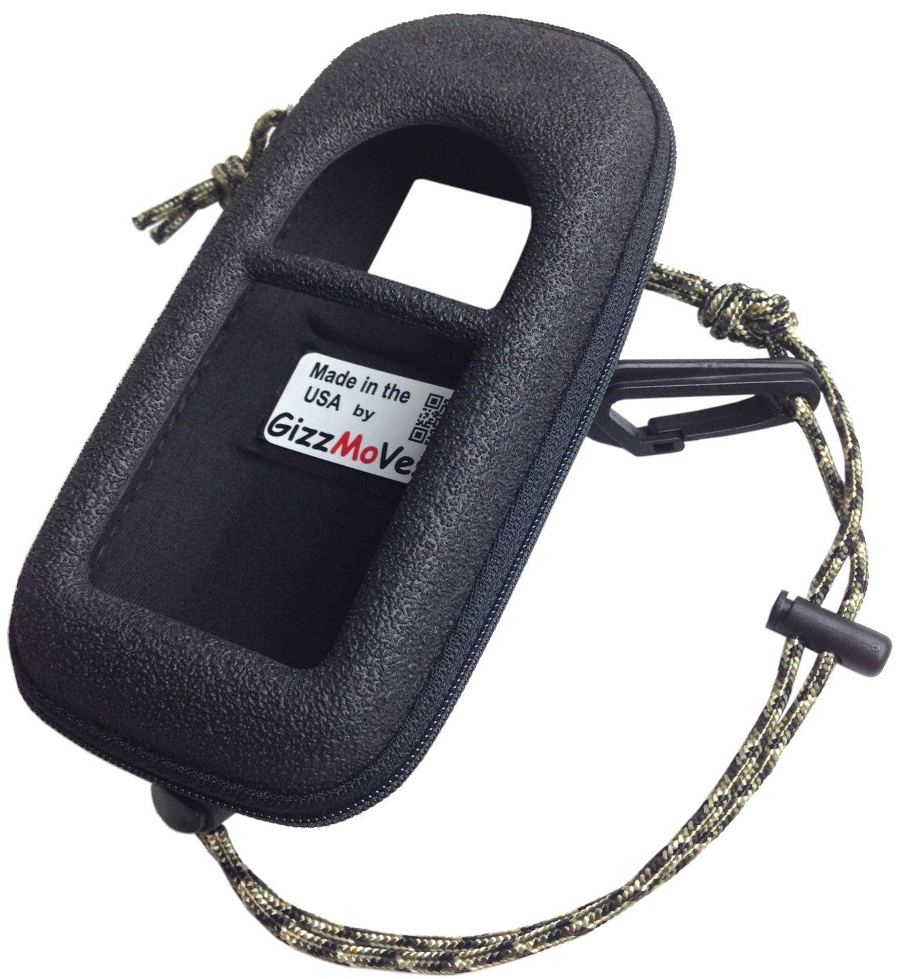 GARMIN 78 78sc 78 s Heavy-Duty Case Cover Skin in tactical *Special Ops Black* w/ Webbing Loop, Lanyard w/Clip. Only For Garmin GPSMap 78sc, 78s & 78. Search 'GizzMoVest' for all models. MADE IN THE USA. by GizzMoVest LLC