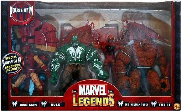 Marvel Legends Regalo Pack casa de M: Amazon.es: Juguetes y juegos
