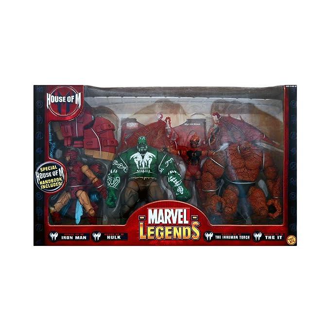 Marvel Legends Regalo Pack casa de M: Amazon.es: Juguetes y ...