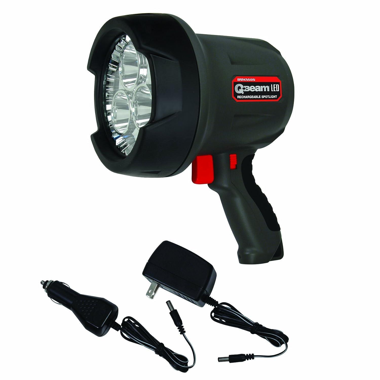 Led Spotlight Rechargeable: Brinkmann 800-2801-S Q-Beam 3 LED Lithium Rechargeable