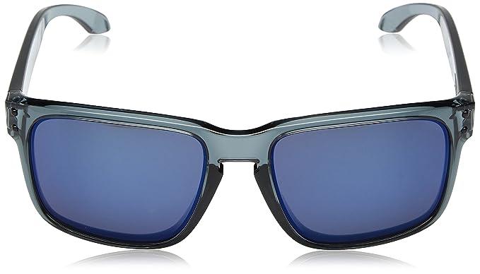 dccb6c71d81e ... top quality amazon oakley mens holbrook sunglass crystal black ice  iridium clothing 8cd99 5bbe9
