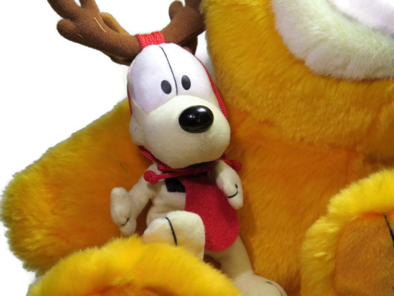 994a7915ff013 Buy Garfield 25th Anniversary Limited Ed. Macys Christmas Plush ...