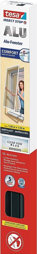 tesa® Insect Stop Fliegengitter 55195 ALU Comfort FENSTER
