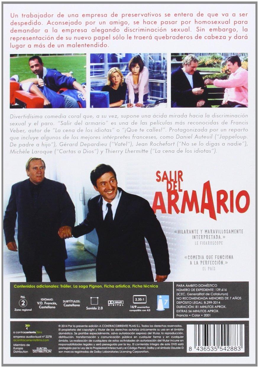 Amazon.com: Salir Del Armario (Import Movie) (European Format - Zone 2) (2014) Daniel Auteuil; Gerard Depardieu; Franci: Movies & TV