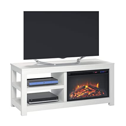 Amazon Com Ameriwood Home Glyndon Electric Fireplace Tv