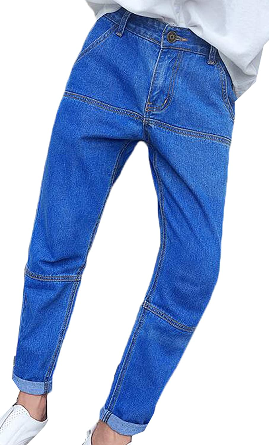 DDK Mens Premium Select Classic Fit Straight Leg Jean