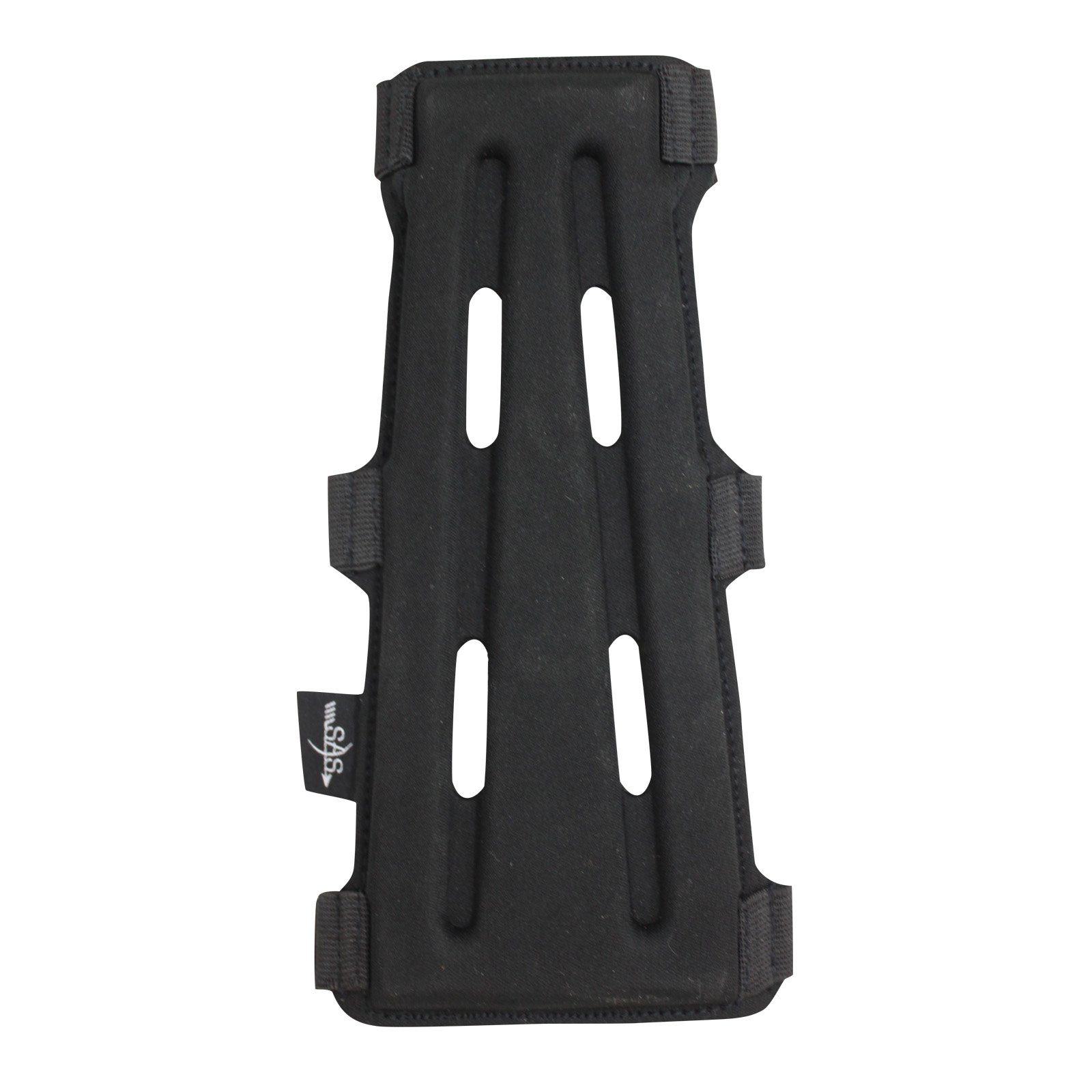 Southland Archery Supply 8'' Black Armguard Archery Bow Range with 3-Strap Buckles by Southland Archery Supply