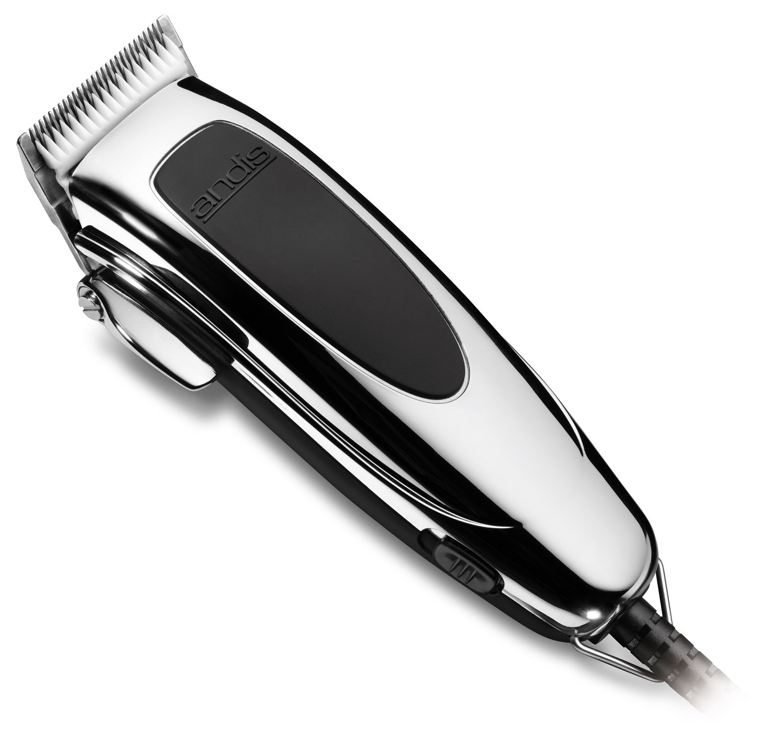 Andis SpeedMaster II Hair Clipper with Adjustable Blade, Silver, Model PM4 (24145)