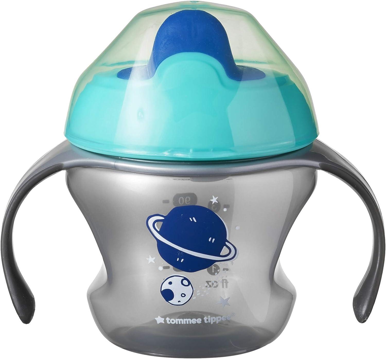 1 Unidad Aventuras Espaciales Gris Tommee Tippee Vaso De Apredizaje