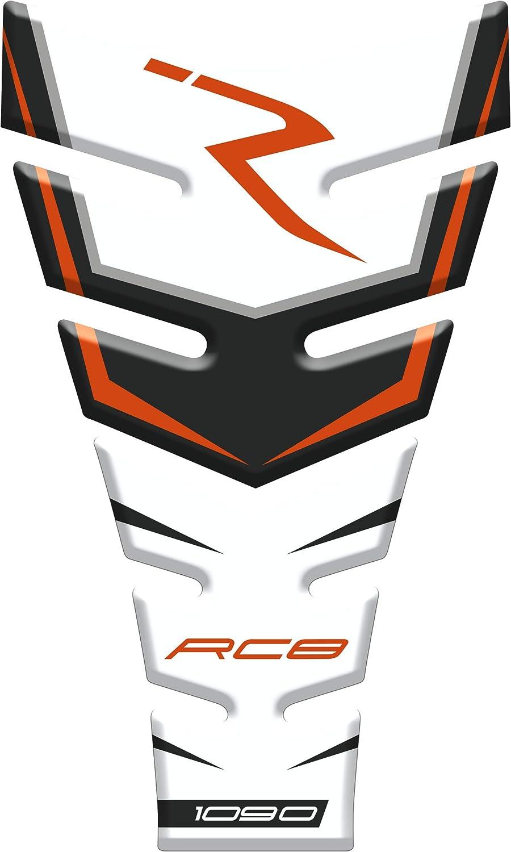 RC8 1090 R v1 Motocicleta Gas Pantalla//Dep/ósito de Combustible de Goma Tankpad Pantalla adhesivo para K.T.M