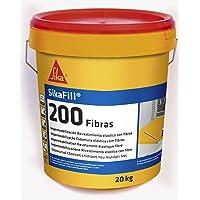 Sikafill-200 fibras, Pintura elástica con fibras para impermeabilización