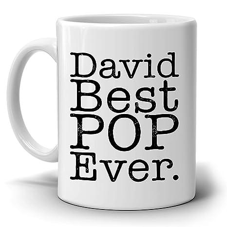 Amazon.com: Personalizado. Mejor Pop ever y taza de café de ...