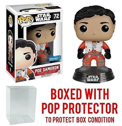 sports shoes 86c1b c45b1 Amazon.com: Funko Pop! Star Wars: The Force Awakens - X-Wing Poe ...