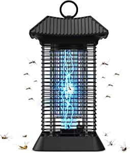 BOYON Bug Zapper Outdoor & Indoor, Electric Mosquito Killer IPX4 Waterproof Fly Zapper Mosquito Attractant Trap 4200V High Effective Insect Killer for Patio Garden