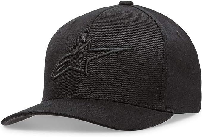 Alpinestars AGELESS Curve Bill Flex Back Hat//Cap LG-XL Black//Black