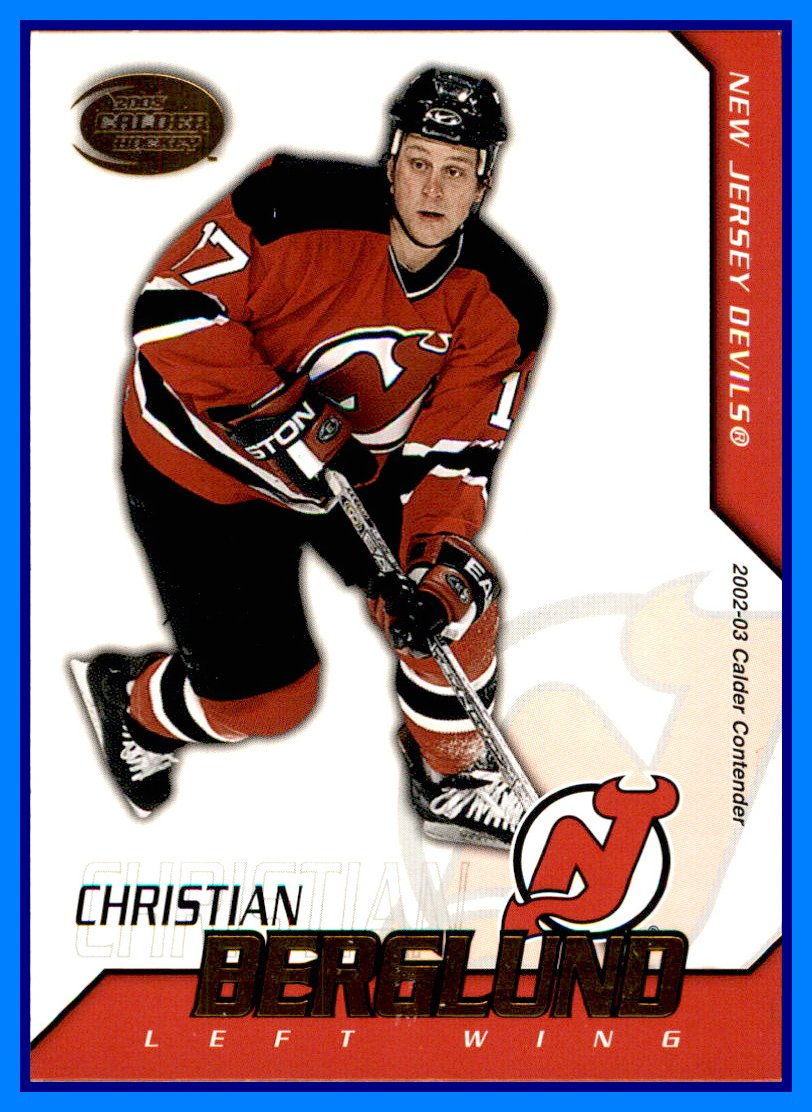the best attitude 000d0 399b4 on sale 2002-03 Pacific Calder #78 Christian Berglund NEW ...