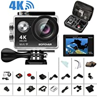 GooBang Doo 4K Bopower 60fps Action Camera Bundle