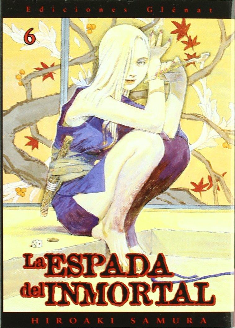 La espada del inmortal 6 (Seinen Manga) Tapa blanda – 1 ene 2010 Hiroaki Samura Editores de Tebeos 8484493784 GLEESPINM06