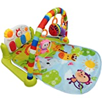 Techhark Kick and Play Multi-Function ABS High Grade Plastic Piano Baby Gym and Fitness Rack, 50 x 37.2 x 8.4 cm (Baby Gym)