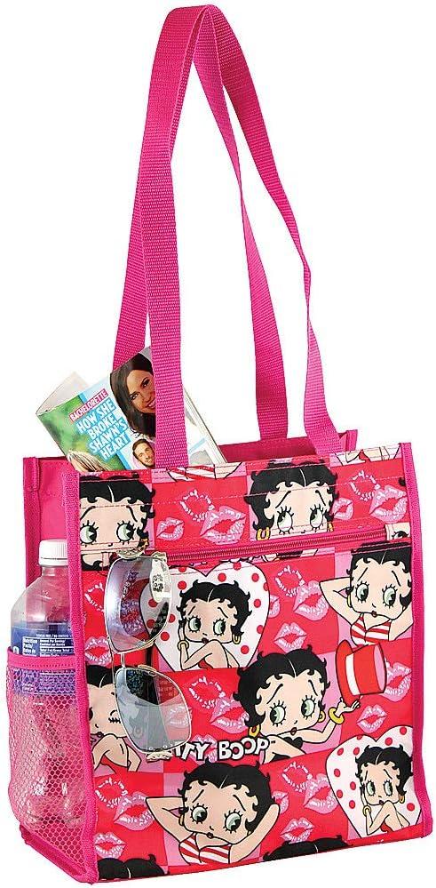 Amazon Com J Garden Betty Boop Tote Bag Kitchen Dining