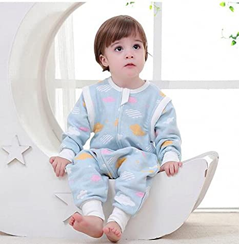 74cdfb330 baby Sleeping bag Long sleeves child All year with feet boy and girl ...