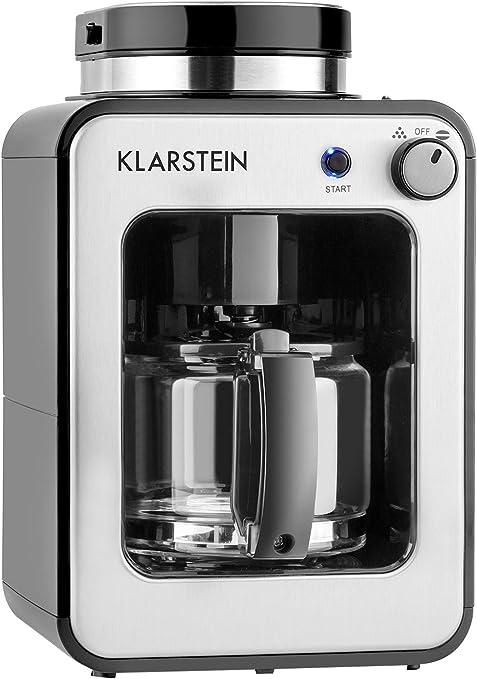Klarstein 10028607 - Cafetera (Cafetera de filtro, Granos de café ...