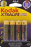 Kodak AA 60 Pack Xtralife Alkaline Batteries, (30410961)