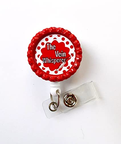 Amazon com : The Vein Whisperer - Retractable Badge Reel