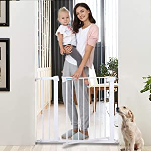 Safety Baby Gate with Auto Close Features