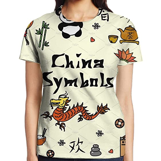 Amazon Snow Violet Dia T Shirt China Symbols Sublimated 3d Full
