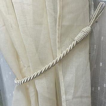 Gardinen Raffhalter amazon de 2 stück vorhang gardinen raffhalter anhänger vorhang seil