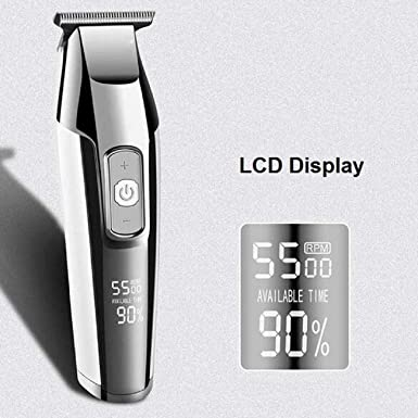 Household Shaver Clippers Mute Rechargeable Cordless Electric Hair Clippers YunZyun Cut Haircut Kit Home Hair Cutting Kit Trimming Personal Grooming Kit for Men Women Children