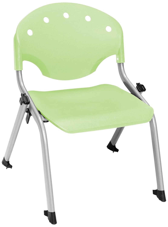 Amazon.com: OFM 305 – 12-p52 estudiante de apilar silla, 12 ...