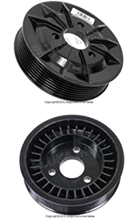 Power Steering Pump Vaico V20-2937 Pulley 32 42 7 553 955