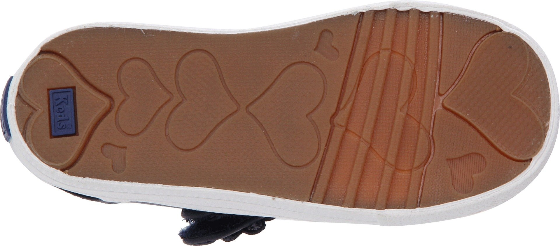 Keds unisex-child Ella Mary Jane Sneaker ,Navy,11 M US Little Kid by Keds (Image #3)