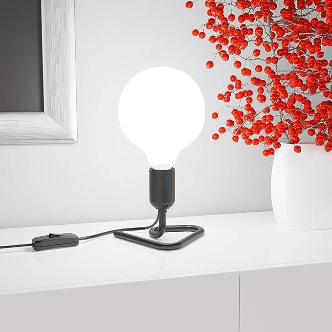 Ledscom.de e27 porcelaine de plafond-version Elektra rouge ronds 90 mm 2 pcs.