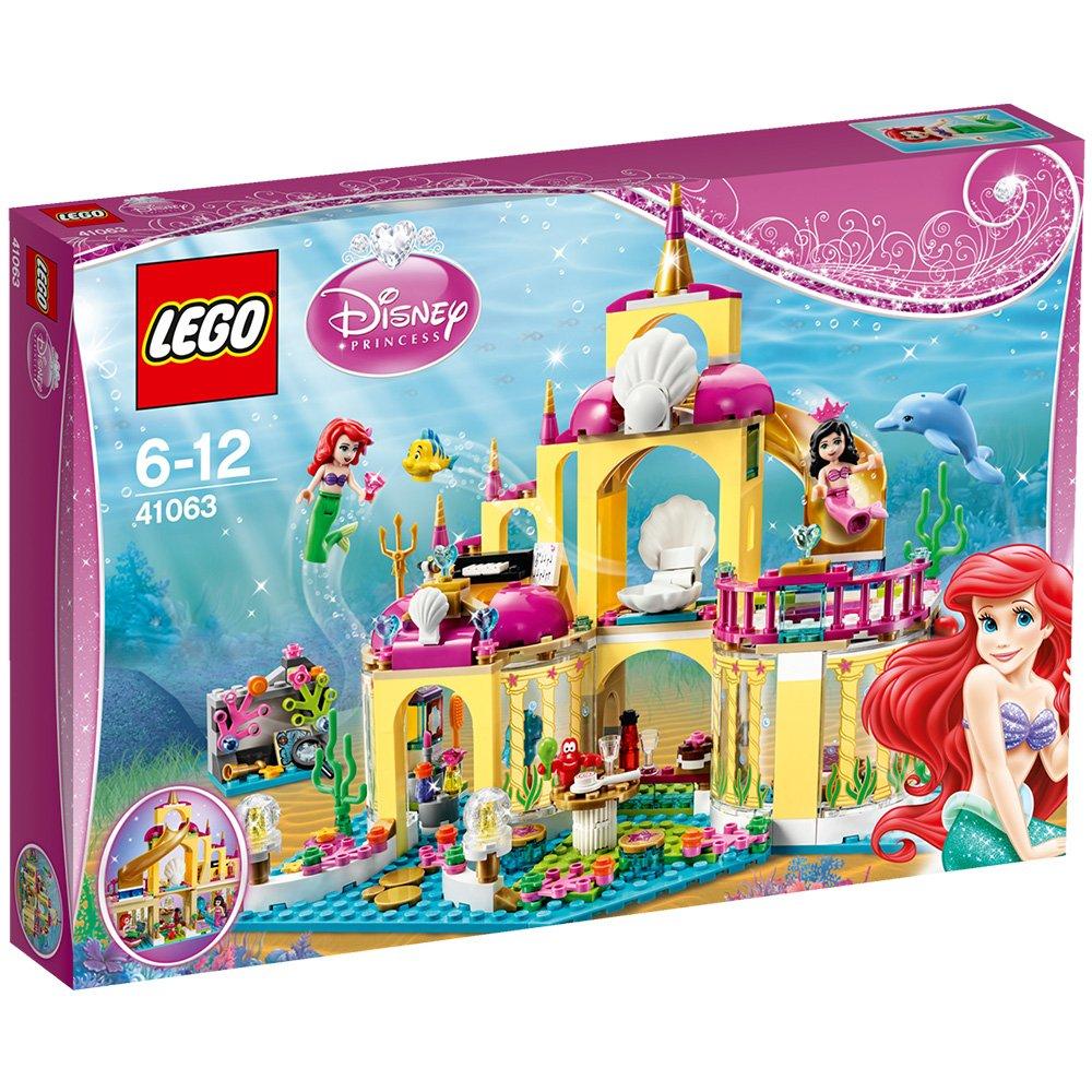 Disney Prinzessinnen Schloss - Lego Arielle's Unterwasserschloss