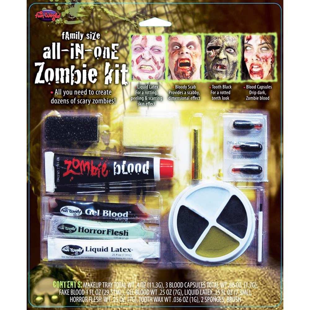 Fun World - Zombie Makeup Kit
