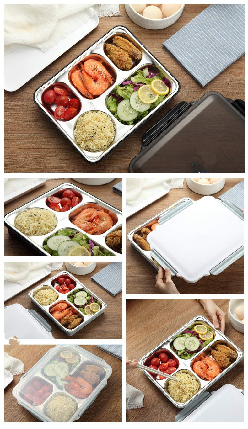 a3e382f68147 Amazon.com: Guozi Stainless Steel Food Container - Childrens Lunch ...