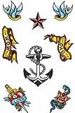 Sailor Themed Tattoo Transfers