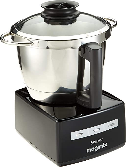 Magimix 148382 Robot de cocina Multifunction Robot, color negro ...