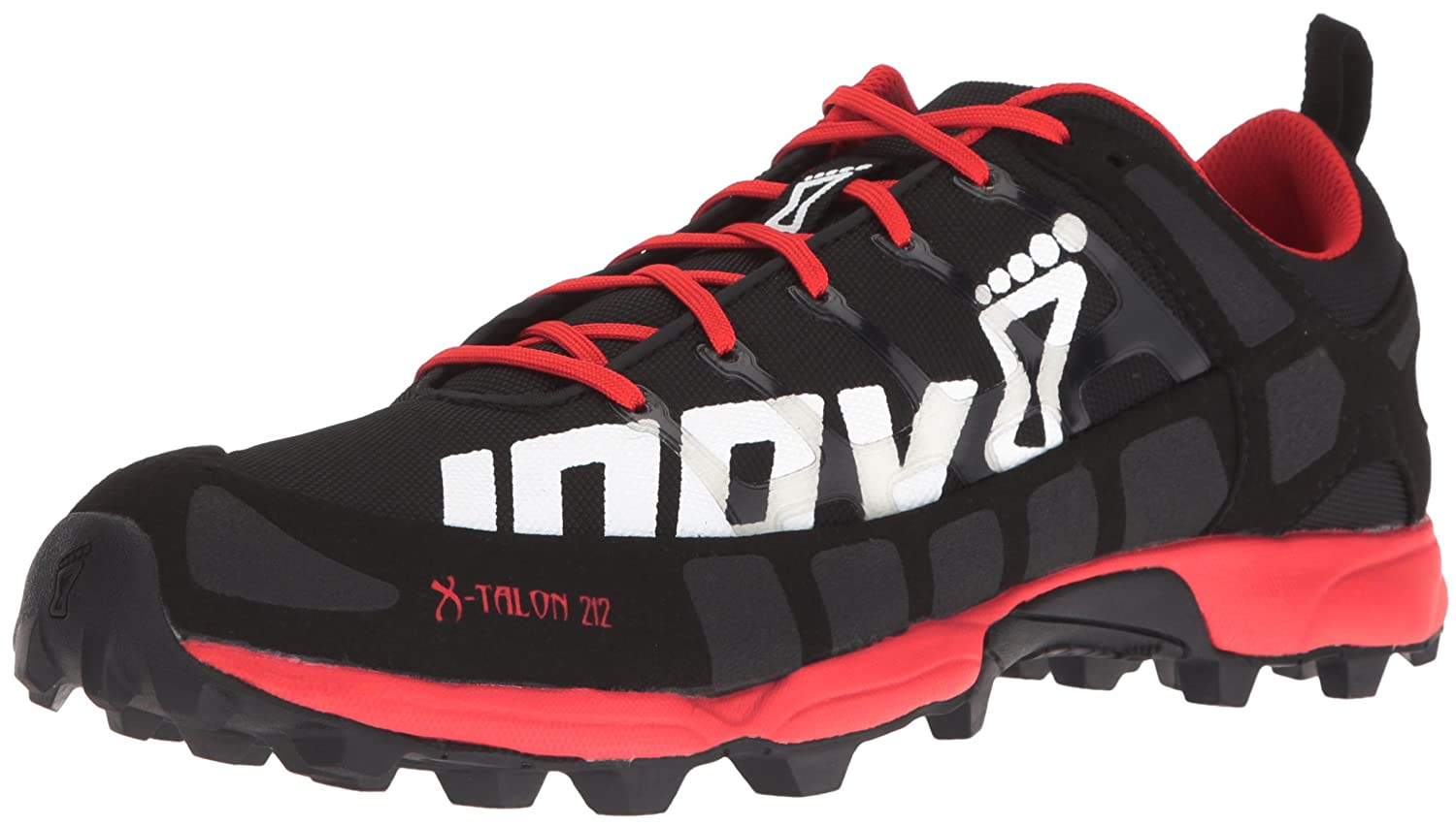 Inov-8 Men's X-Talon 212 (S) Trail-Running Shoe B01G7ZMTWS 11 M/12.5 W|Black/Red