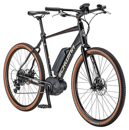Schwinn Vantage FXe 650b Electric Sport Hybrid Road Bike, 51cm/Small Frame,  Matte Black/Copper
