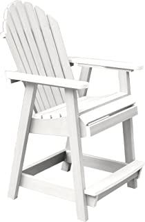 product image for Highwood AD-CHCA2-WHE Hamilton Counter Height Deck Chair, White