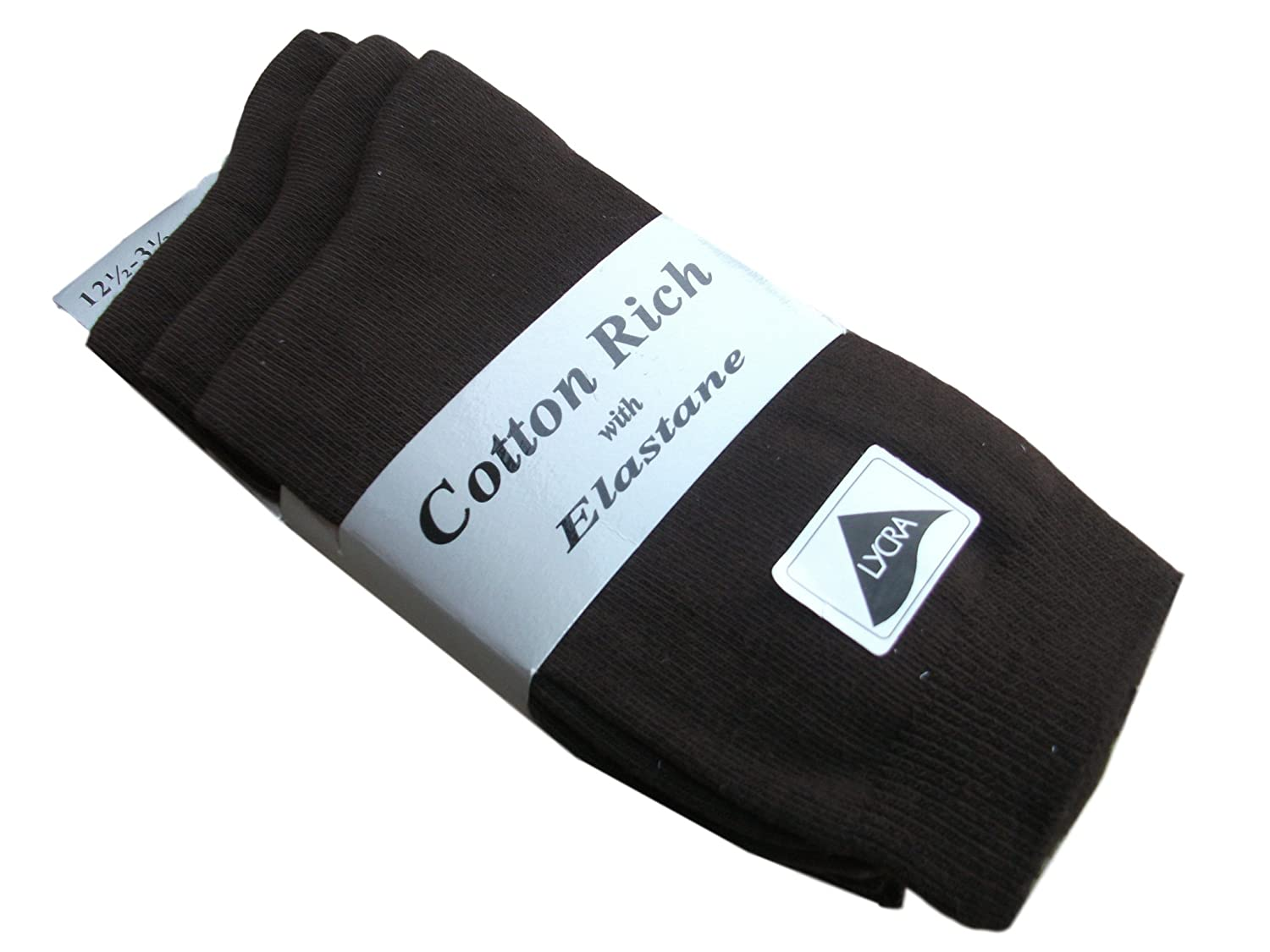 6 Pairs Girls Ankle Socks 75 Percent Cotton Shoe Size uk 4-7 Eur 35-37 Available In 7 Colours Grey Black Burgundy Brown