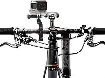 DURAGADGET Soporte/Montura para Manillar De Bicicleta para Cámara ...