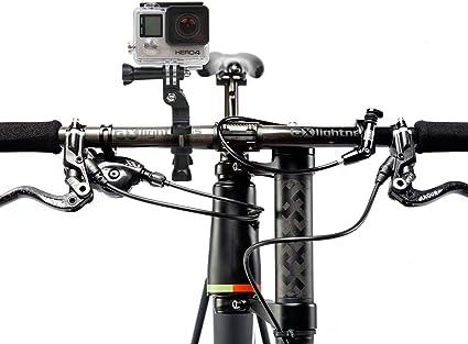 DURAGADGET Soporte/Montura para Manillar De Bicicleta para Cámara GoPro Hero4 Session/Session Surf/Hero 4/3+ / 3/2 / 1: Amazon.es: Electrónica