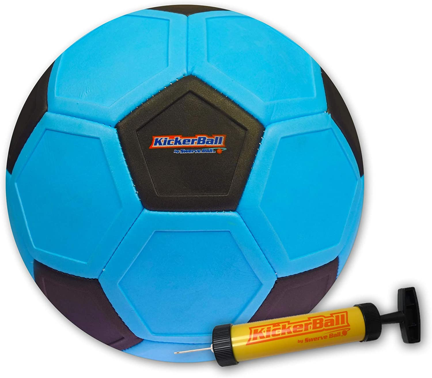 Kickerball Curve and Swerve Soccer BallFootball Toy Kick Like The Pros, Great Gift for Boys and Girls Perfect for Outdoor & Indoor Match or