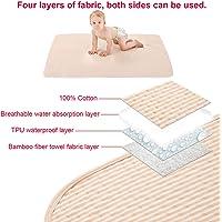 Sábana reutilizable impermeable de cuatro capas Incontinencia Protector