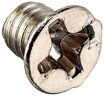sourcingmap/® M6x 12mm Senkkopf flach Head Kreuz Phillips Schraube Schrauben 50 DE de